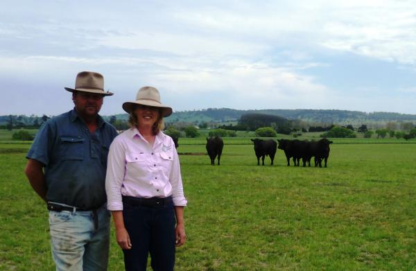 Owen and Kaylene Pedlow of Highland Court Angus Stud, Glen Innes, have seen Hummer tall fescue in action over a number of years and can recommend it for productivity and persistence.
